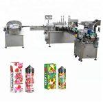 د 10ML / 30ML ګلاس بوتل ډراپر لپاره 5-35 بوتلونه / دقیقه اتوماتیک مایع ډکولو ماشین