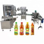 Screw Capping Head Automatic Liquid Filling Machine 750ml – 1000ml Filling Volume Available
