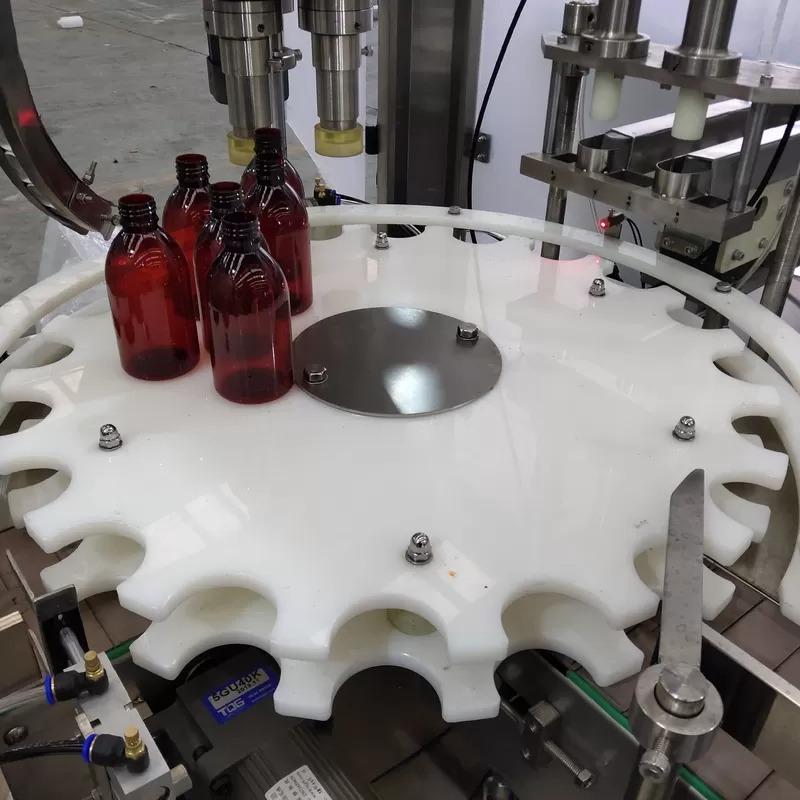 د سیمنز PLC کنټرول د تیلو بوتل ډکولو ماشین